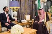 """در دیدار پادشاه عربستان با مسئول دفتر رئیس پارلمان عراق """" سلمان بن عبدالعزیز """" : عراق باید به جایگاه گذشته خود برگردد."""