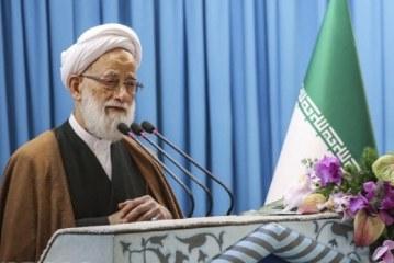 امام جمعه موقت تهران : مقام معظم رهبری در دیدار با خانواده شهدا فرمودند شهامت شهدا باعث شد آمریکا دُم خود را از سوریه جمع کند .