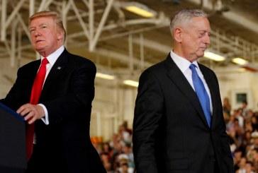 احتمال جداشدن وزیر دفاع آمریکا از کابینه ترامپ با بهانه بازنشستگی / متیس : عقل ترامپ اندازه یک کودک کلاس پنجم و ششم است.