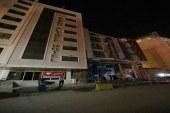 هتل داران شهر مقدس کربلا در اعتراض به اُفت شدید زائران بطور همزمان چراغ هایشان را خاموش کردند .