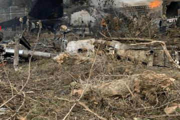روحانی : سانحه تلخ و دردناک هواپیمای بوئینگ 707 که منجر به شهادت جمعی از پرسنل خدوم نیروی هوایی ارتش جمهوری اسلامی ایران در حین خدمت رسانی به هموطنان عزیزمان شد، باعث تأثر و تاسف عمیق شد.