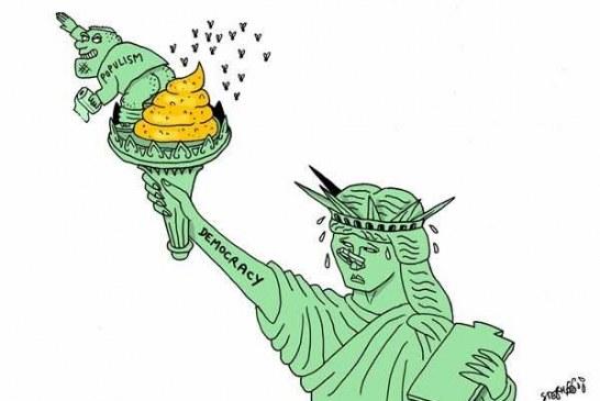"""سناتور """" چارلز شومر """" : """" دونالد ترامپ """"  از مقامش برای ایجاد بحران استفاده میکند / نماد آمریکا باید مجسمه آزادی باشد نه یک دیوار ۳۰ فوتی."""