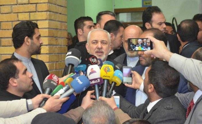 """"""" ظریف """" : ما و عراق قبل از این که آمریکا بوجود بیاید روابط داشتیم و از این پس هم خواهیم داشت."""
