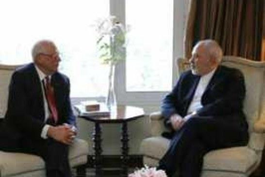 دیدار ظریف با همتای اسپانیایی خود / اتحادیه اروپا و اسپانیا از نقض یکطرفه توافق هسته ای از سوی آمریکا انتقاد دارند .