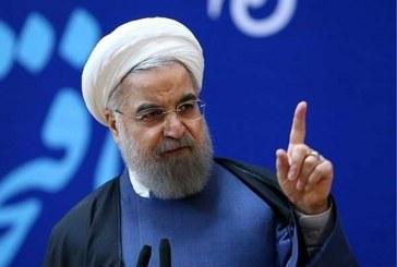 """"""" روحانی """" : نخواهیم گذاشت مزدورانی که به پاسداران عزیز و مرزبانان غیور ما که امنیت کشور بر دوش آنهاست، حمله ور شوند و از دست انتقام الهی و مردم ایران فرار کنند ."""