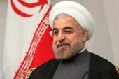""""""" روحانی """" : امروز در شرایطی هستیم که جنگ ارادهها نتایج خود را نشان خواهد داد ، هیچ تردیدی به پیروزی اراده ملت بزرگ ایران در برابر آمریکا نداریم ."""