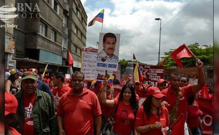 """بر خلاف منشور ملل متحد در الزام به عدم مداخله در امور داخلی یک کشور مستقل / """" ترامپ """" : مداخله نظامی در ونزوئلا یکی از گزینه های روی میز است ."""