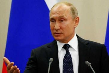 """"""" پوتین """" : چنانچه آمریکا از موشکهای میانبرد در اروپا استفاده کند، روسیه نیز دست به """" اقدام متقابل """" خواهد زد."""