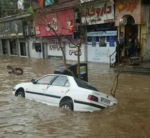 کارشناس هواشناسی : وقوع سیلاب و طغیان رودخانه ها در روزهای هفتم و هشتم فروردین در برخی نقاط دور از انتظار نیست .