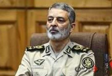 فرمانده کل ارتش : اگر کسی بخواهد تجاوزی کند، با قدرت در برابرش خواهیم ایستاد .