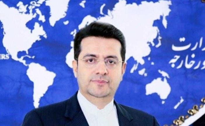""""""" سید عباس موسوی """" سخنگوی وزارت خارجه در پاسخ به رویتر : پرداختن به خبر سازی ها می تواند به تخریب فضای مورد نیاز یک دیپلماسی جدی کمک کند ."""