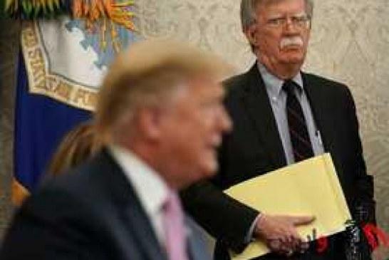 """"""" بولتون """" : من مشاور امنیت ملی هستم، نه تصمیمگیرنده در امور امنیت ملی."""