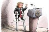 """"""" استفان لندمن """" : تمایل به جنگ با ایران مطمئنا ضعیف است / ترامپ ممکن است بولتون را از کار برکنار کند."""