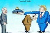 """"""" ظریف """" در توئیتی به زبان عربی :  قدس فروشی نیست."""