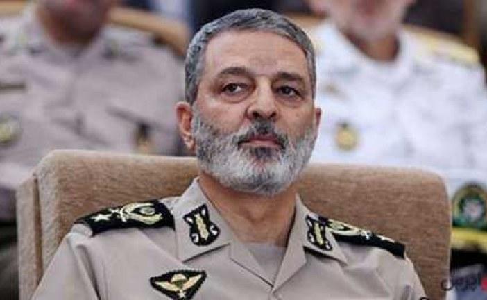 فرمانده کل ارتش : رصدهای اطلاعاتی ما جنگ را نشان نمی دهند .
