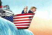 """"""" ترامپ """" : اگر بتوانیم با ایران کنار بیاییم عالی ست ، اگر هم نتوانیم عالی ست ."""