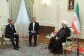 """"""" روحانی """" : هدف تهران اجرای کامل تعهدات طرفین در برجام است ."""