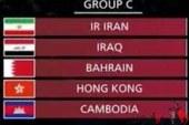 برگزاری مراسم قرعهکشی مرحله دوم انتخابی جام جهانی ۲۰۲۲/ همگروهی مجدّد ایران با عراق