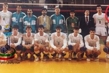 پرواز « مهدی ایمانی » بازیکن اسبق و با اخلاق تیم ملی والیبال ایران به ملکوت