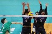 شکست تیم ملی والیبال نوجوانان ایران مقابل ایتالیا