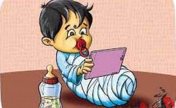 تلفن همراه حریم خصوصی کودک و نوجوانان نیست .