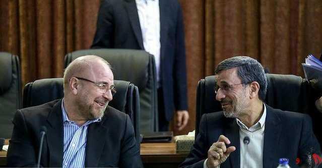 یامینپور : احمدینژاد و قالیباف با هم دیدار کرده اند .
