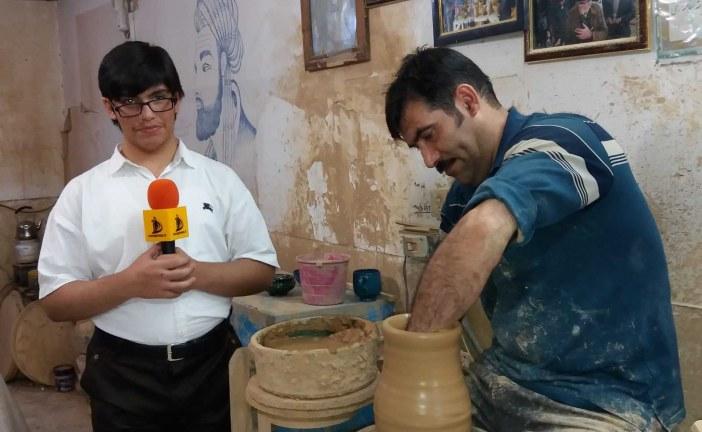 """به بهانه حضور در شهر جهانی سفال ( لالجین ) ؛ مهد معجزه گران هنرمندی همچون برادران """" مهران """""""