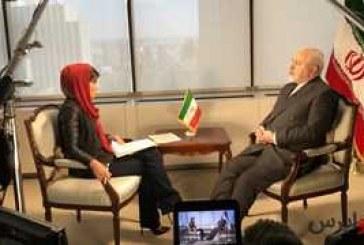 """مصاحبه """" ظریف """" با سی.بی.اس : آغازکننده جنگ در منطقه، پایاندهنده آن نخواهد بود"""