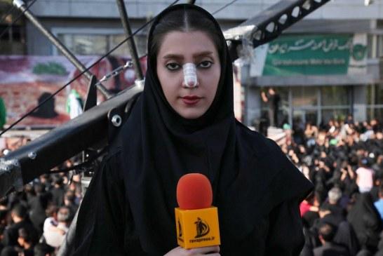 گزارش تصویری حرکت نمادین کاروان اسرای کربلا در ورامین ( از نگاه دوربین ِ مهسا عباسی )