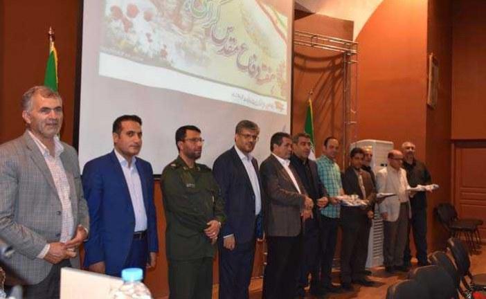 همایش تجلیل از رزمندگان وجانبازان دفاع مقدس در شهرک صنعتی عباس آباد با حضور فرماندار پاکدشت