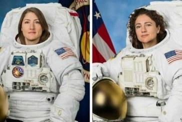دو فضانورد زن اولین پیادهروی فضایی را انجام دادند