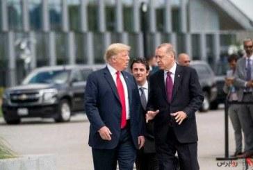 اردوغان و ترامپ درباره منطقه امن در شمال سوریه گفت وگو کردند/ آمریکا در اجرای منطقه امن در شمال سوریه مشارکت نمیکند