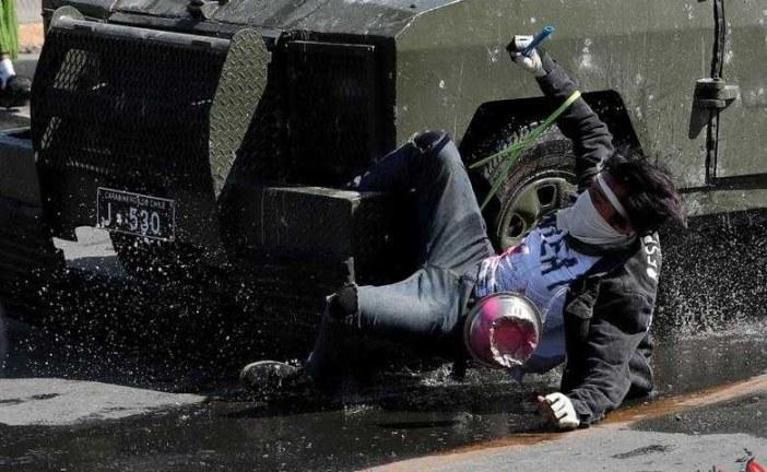 شمار قربانیان خشونتهای شیلی به ۱۸ تن رسید