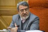 وزیر کشور: لازم باشد شب انتخابات هم استانداران و فرمانداران را تغییر میدهم