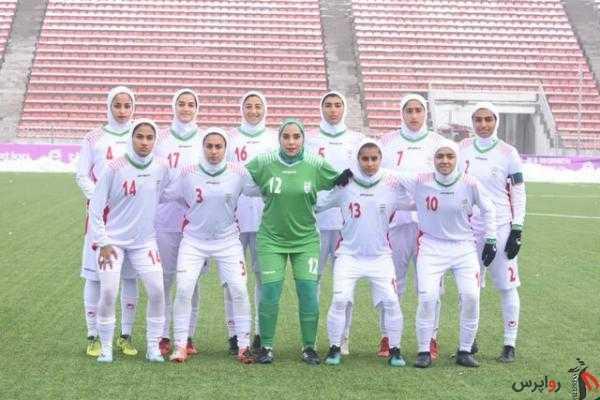 دختران فوتبالیست ایران نایب قهرمان تورنمنت کافا شدند