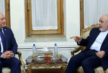 ایران و گرجستان گسترش همکاریها را بررسی کردند