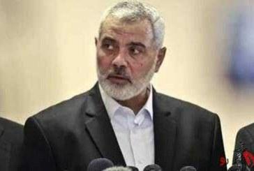 هنیه: روابط با ایران و حزب الله خوب است/ در رابطه با دمشق تغییراتی انجام نشد