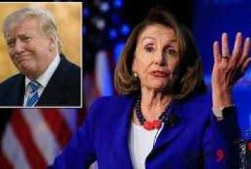 پلوسی: استیضاح ترامپ برای حفظ قانون اساسی است
