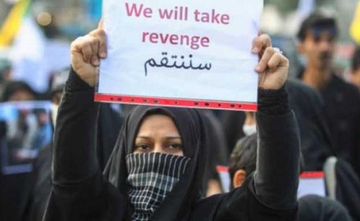 نیویورکتایمز: دهها هزار عراقی در مراسم تشییع فریاد «انتقامخواهی» سر دادند