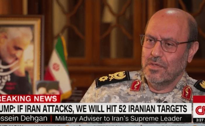 سردار دهقان: واکنش ما قطعاً یک پاسخ نظامی «علیه اماکن نظامی» خواهد بود
