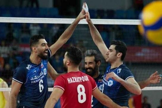 والیبال انتخابی المپیک  ایران 3 – چین صفر؛ شاگردان کولاکوویچ به میزبان هم رحم نکردند