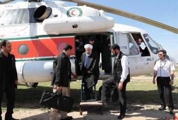بازدید رییس جمهوری از مناطق سیلزده چابهار