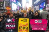 تجمع گسترده آمریکاییها علیه اقدام تروریستی ترامپ