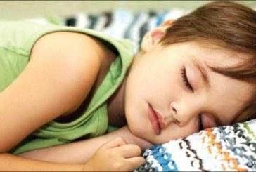کودک دبستانی من چقدر بخوابد، کافی است؟