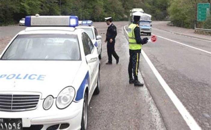 جریمه نیم میلیونی رانندگان متخلف طرح فاصله اجتماعی/ نحوه عبور خودروی مسافران غیرتهرانی از تهران