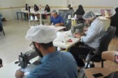 """"""" وقف – نذر """" رسانه رضوی علیه آلاف التحیه و الثناء ( رواپرس ) / کارگاه تولید ماسک بهداشتی در عالیشهر بوشهر راهاندازی شد"""