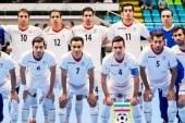 تیم ملی فوتسال ایران همچنان در رده اول آسیا و ششم جهان
