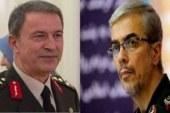 وزیر دفاع ترکیه موفقیتهای ایران در مقابله با کرونا را تبریک گفت