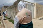 """"""" وقف – نذر """" رسانه رضوی علیه آلاف التحیه و الثناء ( رواپرس ) / گندزدایی محلات و اماکن عمومی خرمآباد توسط خادمیاران رضوی"""