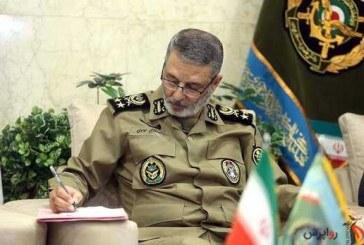 تشکر فرمانده کل ارتش از رهبر معظّم انقلاب